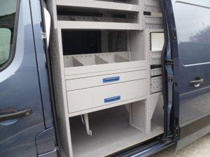 Bewaco bedrijfswagen inrichting - realisaties